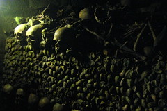 Paris - Montparnasse: les Catacombes de Paris