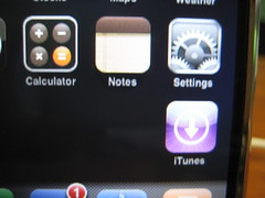 iPhone iTunes WiFi Store Button