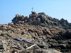 Pointe rocheuse du Capu di Zivia