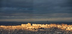 [ paris is burning ] (kami_pisecka) Tags: city sunset sky panorama house paris france building slr tower sunshine skyline digital skyscraper canon eos town district capital sightseeing sigma panoramic sight dslr montparnasse 18200 francie cityline sigma18200 450d montparnasse56