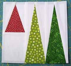 Geese in the Forest (twiddletails) Tags: triangles quilt block bdg foundationpieced
