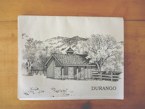 durango drawing