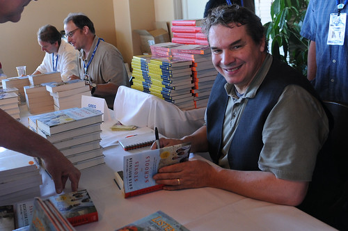 Greg Mortenson at the Reading Frenzy