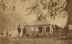 GC 16.2.2 f.3 6 BFM India People and Scenes - Missionary Camp (elcaarchives) Tags: india board missionary foreign missions