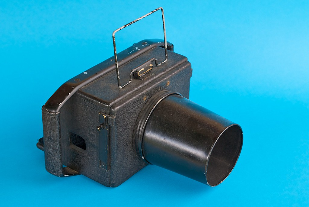 Custom-built aerial camera housing (1930s)