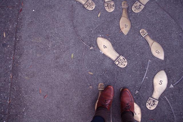 Janelle's dancing feet