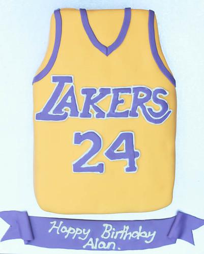 LA Lakers Cake-9