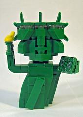 Statue of Liberty (BlockoLUG) Tags: lego statueofliberty ladyliberty moc frogspace cubedude cubedudes