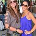 Katerina Lopez y Stephanie Esper en la inauguracion de Victoria