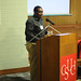 Student speaker, Michael Williams, 3rd annual Now & Then event, February 2009.