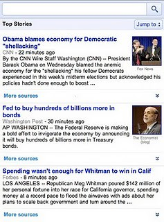 Google News Mobile Close