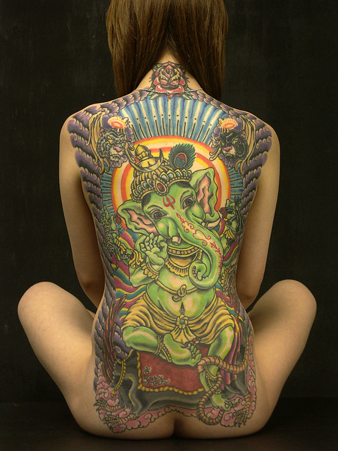 Ganesh Tattoos Your Body As An Altar Sacred Elephants