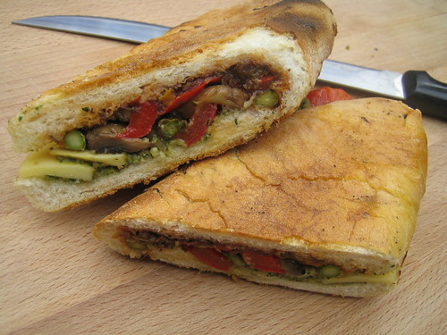 grilled vegetable panini 2 cups leftover grilled or roasted vegetables ...