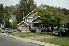 Wisteria Lane Houses 2/3 (CeeKay's Pix) Tags: usa brown house film studio us losangeles holidays unitedstates hollywood cheryl suburb universalstudios ck backlot desperatehousewives studiotour wisterialane