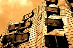 Gehry IX (Macgidtosh) Tags: houses house building architecture buildings nikon d70 nikond70 haus gehry architektur düsseldorf gebäude duesseldorf häuser bauten gehrybauten nohdr