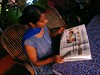 """Reading The Hindu • <a style=""""font-size:0.8em;"""" href=""""http://www.flickr.com/photos/9310661@N04/856612017/"""" target=""""_blank"""">View on Flickr</a>"""