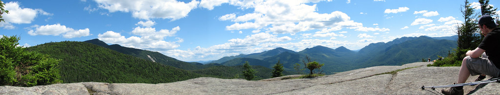 Panorama Hopkins Mountain 1