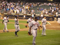 Mets vs Brewers Aug 1, 2007 (Julie Rubes) Tags: park chicago david green fan brewers oliver miller anderson castro milwaukee shawn wright ramon marlon mets perez