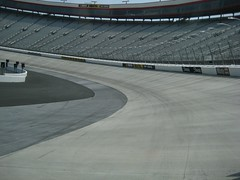 New Concrete at Bristol Motor Speedway