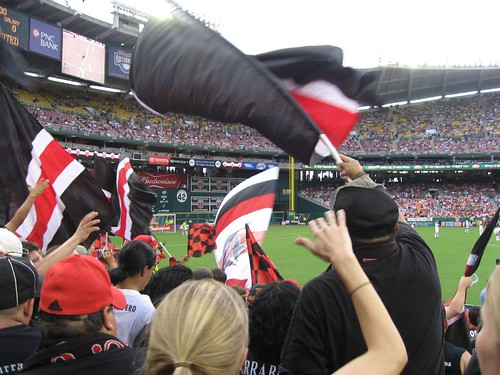 Barra Brava Section 135 at RFK Stadium