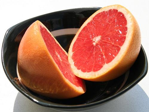 Red grapefruit por annemiel.