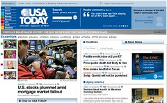 USA Today Declining Audience