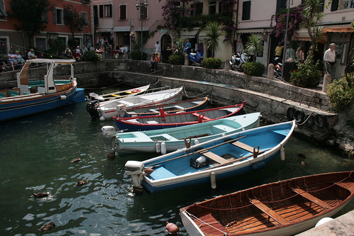 Old port in Limone