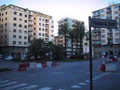 Nuova rotatoria in Piazza Saffi