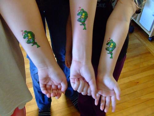 the girls get matching tattoos