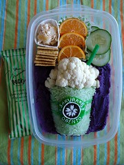 obent-ode to my favorite drink :( (Sakurako Kitsa) Tags: green coffee lunch tea starbucks bento matcha sakurako frappuccino obento frap kitsa sakurakokitsa