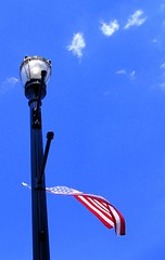 Flag and Post