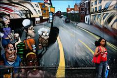 Life imitating art (edwardkb) Tags: uk colour london nottinghill portobelloroad ladbrokegrove 50mmlens ruvjet abigfave canoneos400d aplusphoto carnivalaftermath edwardbarnieh