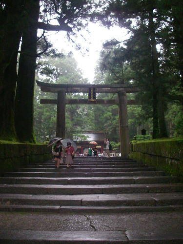 Nikko: torii gate
