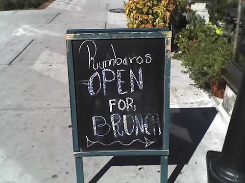 Rumbraros for Brunch