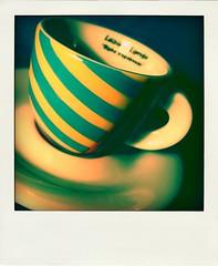 (agatakaaa) Tags: blue cup coffee polaroid tea cups