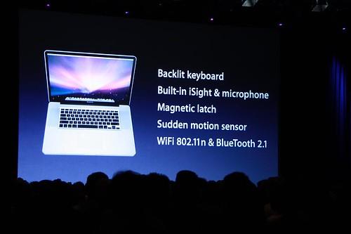 Mac Book Pro 17 características