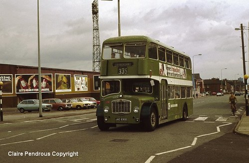 Doncaster Road, Scunthorpe, North Lincolnshire, 1980