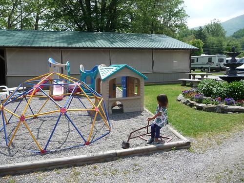 kiddie playground.