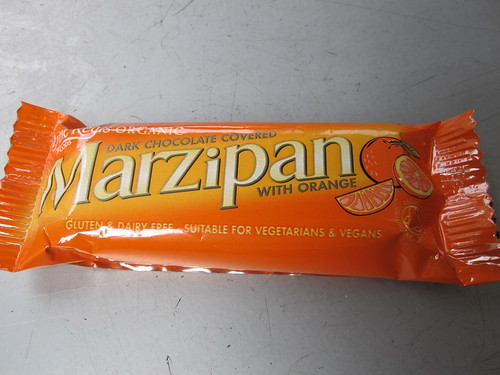 Orange Marzipan Bar