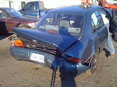 rear damage