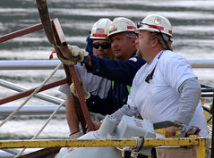 Watts Bar Lock Maintenance by NashvilleCorps, on Flickr