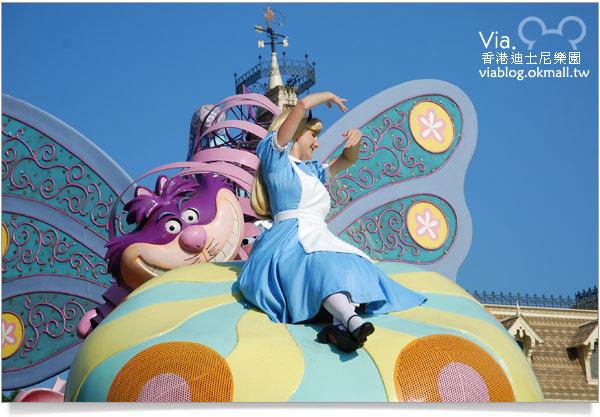 【香港迪士尼】跟著via玩香港(3)~迪士尼卡通人物歡樂巡遊25