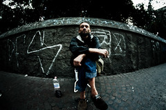 Majakovskij (lu) Tags: street lines self centro fisheye his napoli to these author beloved own golia citt barone aperta the majakovskij piazzadelges benedettocroce dedicates teatrodegliorrori tohisownbelovedselftheauthordedicatestheselines