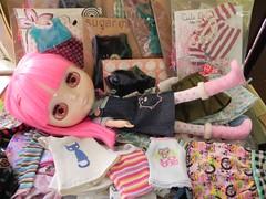 *★*★* My Blythe bag of goodies *★*★*