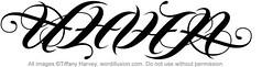 """Eleven"" Ambigram"
