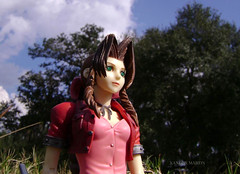 Aerith Gainsborough (Wizard of X) Tags: flower ancient 7 final fantasy sector flowergirl finalfantasy 7th merchant materia vii slums gainsborough sephiroth aeris aerith midgar aerisgainsborough aerithgainsborough finalfantastyvii sector7slums wizardofx