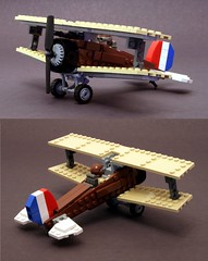 biplane update (psiaki) Tags: airplane fighter lego wwi biplane moc