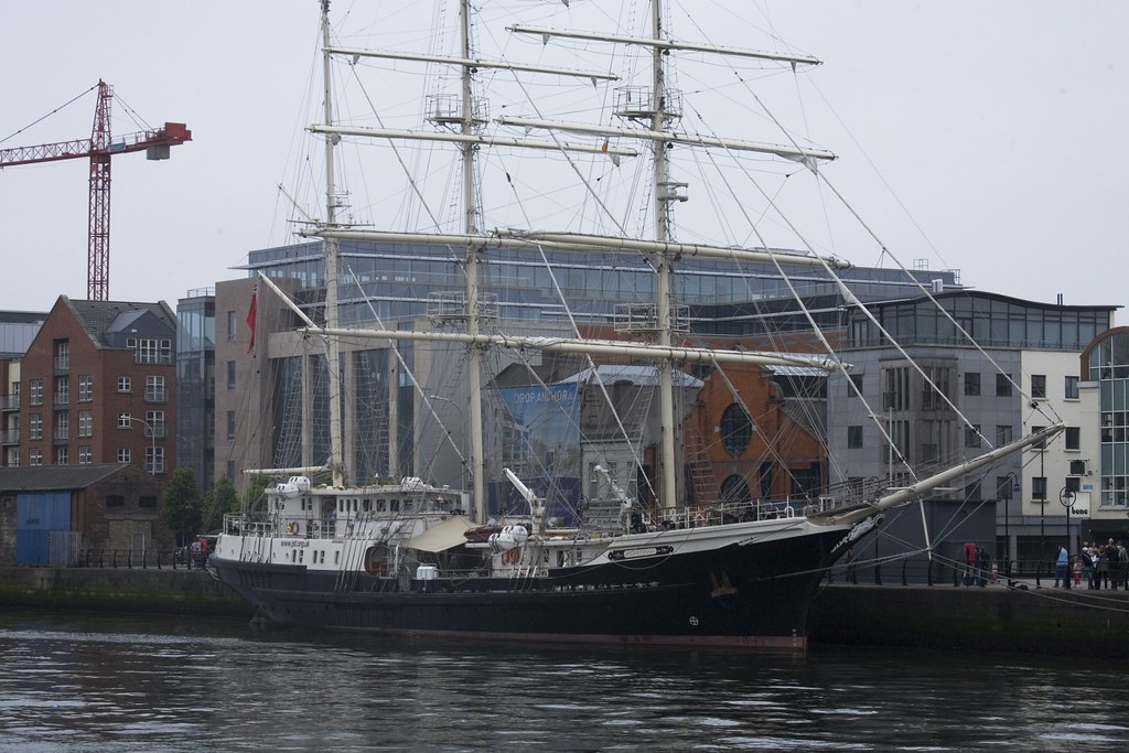 TALL SHIP ON THE LIFFEY (Dublin, Ireland)