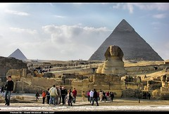 The Pyramids of Giza (khalid almasoud) Tags: sphinx nikon holidays photographer desert mosaic famous egypt rocky most kings journey egyptian ago pyramids years surrounding khalid giza mysteries symbolism khafre 4500 8800 almasoud