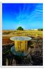 Dead Desert vs. Alive Sky (Hussain Shah.) Tags: tree wheel d50 nikon desert kuwait 1855mm nikkor ih sulaibikhat